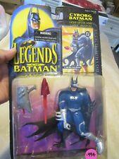 LEGENDS OF BATMAN CYBORG BATMAN WITH LIGHT-UP EYE AND LASER WEAPON