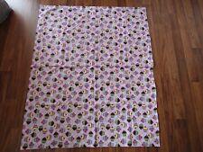 "Baby Girl's Pink & Purple Cupcake Blanket 33"" x 40"""