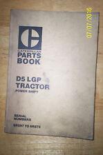 Caterpillar D5 LGP Tractor Power shift parts book