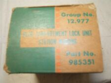 1961 1962 1963 1964 Chevrolet Station Wagon accessory lock kit nos 985351