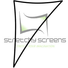 RIGHT TRIANGLE #2 FLAT PANEL, STRETCH SCREEN, SPANDEX BACKDROP, 8' X 12'