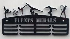 Thick 5mm Acrylic Personalised Rhythmic Gymnastics / Gym 3tier Medal Hanger
