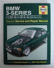HAYNES MANUAL BMW 3-SERIES 1991 TO 1995/ 1996 (H TO N/ M REGISTRATION) PETROL