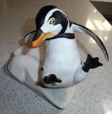 Franklin Mint Whoops Penguin Hand Painted Porcelain Figurine