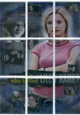 Veronica Mars Season 1 Complete 9 Card Wko Killed Lilly Kane Chase Set