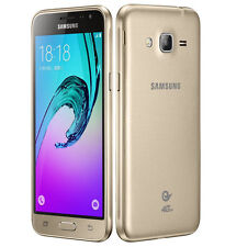BRAND NEW SAMSUNG GALAXY J3 6 DUAL SIM  8GB 4G LTE SMART PHONE GOLD UNLOCK 2016