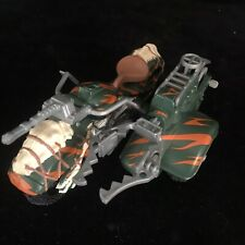 Very Rare Jurassic Park Action Figure Motorbike & Sidecar Kenner Toy 1993