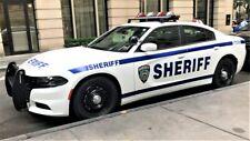 GREENLIGHT POLICE DODGE CHARGER  NEW YORK CITY SHERIFF CUSTOM UNIT