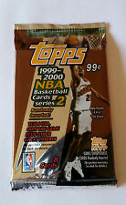 NBA Topps Series 2 1999/00 Retail Pack - Basketball Cards