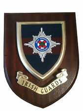 Irish Guards Military Wall Plaque uk hand made for MOD