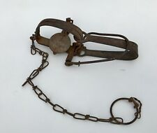 Vintage Early 1900'S Animal Trap Stop Sloss 0# Usa T-a