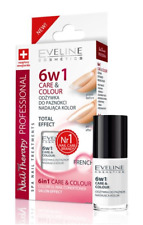 EVELINE NAIL THERAPY CARE & COLOUR 6in1 COLORFULL NAIL CONDITIONER FRENCH