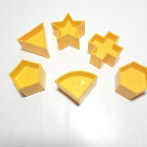 Tupperware Shape O Ball Shapes priced As Lot of Six