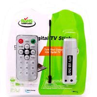 Antenna Ricevitore DAB TV USB canali segnale + telecomando televisione PC radio