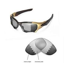 New Walleva Polarized Transition Replacement Lenses For Oakley PIT BOSS II
