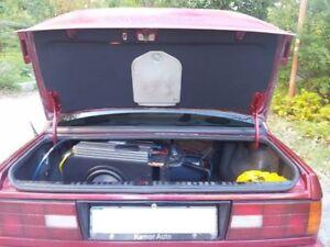BMW e30 M Technik Evo bootlid BOOT LID TRIM panel M tech Sport 325is 325ix m3
