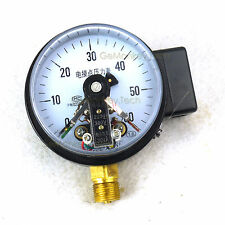 "4"" Magnetic Help 100mm Electric Contact Pressure High Gauge Manometer 60Mpa 30VA"