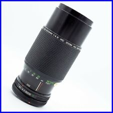 VIVITAR 80-200mm f4.5 CANON FD MOUNT FOR PARTS NOT WORKING lens vintage zoom