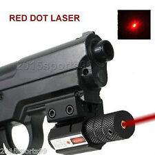 Tactical mini Red Laser sight Picatinny Rail for gun Rifle pistol Glock Scope 25