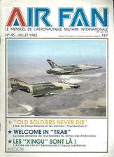 AIR FAN 45 AFRES F-105 THUNDERCHIEF F-4 PHANTOM / USAFE TOUL-ROSIERES AB / FH-1
