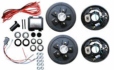 Add Brakes to Your Trailer Complete Kit 3500 axle 5 x 4.75 Electric GM Wheel