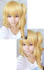 Touhou Project Tōhō Toho Flandre Scarlet blond Cosplay Perücke wig zopf APH