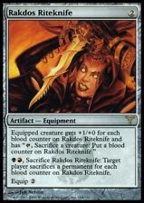Coltello Rituale Rakdos - Rakdos Riteknife MTG Dis Ita