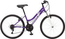 Girls Mountain Bike 24 18 Speed Shimano Womens Outdoor Bicycle Steel Frame