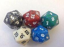 DOMINARIA -  Spindown Dice Complete Set - All 5 Color Dice MTG