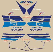 SUZUKI RGV 250 GAMMA VJ22 1991 SERIE ADESIVI STICKERS