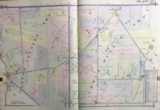 1916 Montgomery Co., North Pa, Lower Gwynedd, Upper Dublin, Copy Plat Atlas Map
