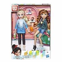 Disney Princess Ralph Breaks the Internet Movie Dolls, Elsa and Anna Dolls with