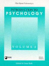 Introduction To Psychology (Open University's Introduction to Psychology) by Il