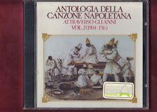 ANTOLOGIA DELLA CANZONE NAPOLETANA VOL.2  1904-1916 CD NUOVO SIGILLATO