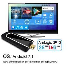 H96 Pro Mini PC 4K Android 7.1 Smart TV Dongle Stick Amlogic S912 Octa 2G / 8G #