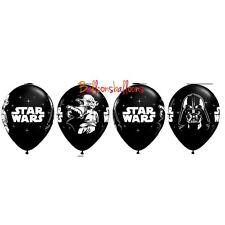 "5 x Star Wars Darth Vader Storm Trooper Yoda Latex 11"" Balloons Party Decoration"