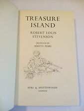 1949 Treasure Island, Eyre & Spottiswoode London, Stevenson, Purple, Free Ship