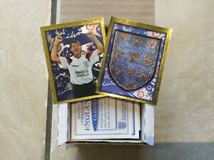 England World Cup 98 Full Set Of 308 Unused Stickers - Merlin