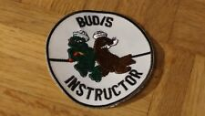US NAVY SEAL BUD/S UDT SEAL INSTRUCTOR VINTAGE STYLE PATCH