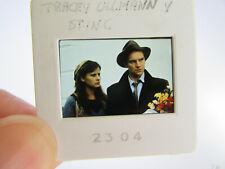 More details for original press photo slide negative - sting & tracey ullman - 1980's