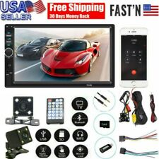 7 Inch DOUBLE 2DIN 12V Car MP5 Player BT Tou+ch Screen Stereo Radio HD+Camera