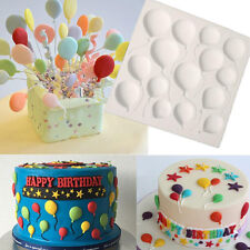 Silicone Balloons Fondant Cake Sugarcraft Chocolate Decorating Mold Baking Tools