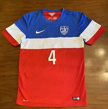 Michael Bradley 2014/2015 USA Home Jersey Authentic VGUC Men's Small S
