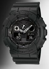 Casio G Shock * GA100-1A1 Anadigi XL Stealth Matte Black Dark Knight COD PayPal