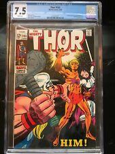 Thor 165 CGC 7.5 Adam Warlock Him