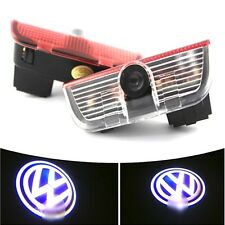 2pcs Car Laser Projector Ghost Shadow LED Door Courtesy Lights For VW Volkswagen