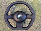BMW Z4 M COUPE E85 E86 NEW CUSTOM MADE FLAT BOTTOM  STEERING WHEEL