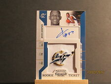 2010-11 Playoff Contenders Patches #147 Kevin Seraphin AU RC JMC
