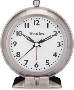 Westclox Big Ben Analog Quartz Metallic Case Bell Alarm Clock 47602