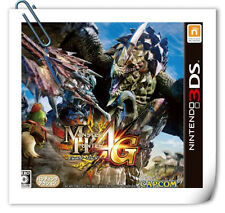 3DS Nintendo MONSTER HUNTER 4G Capcom Action